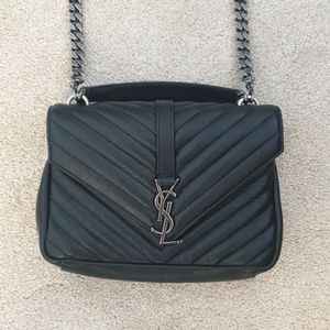 Yves Saint Laurent College Medium Matelasse Bag